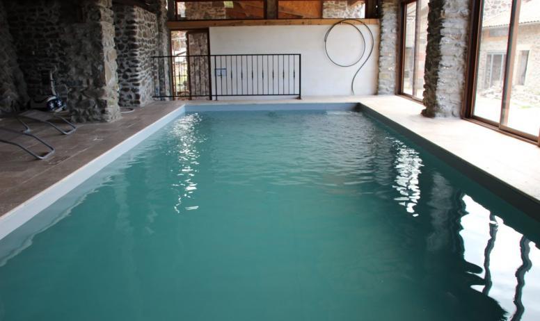 Grande piscine à votre disposition