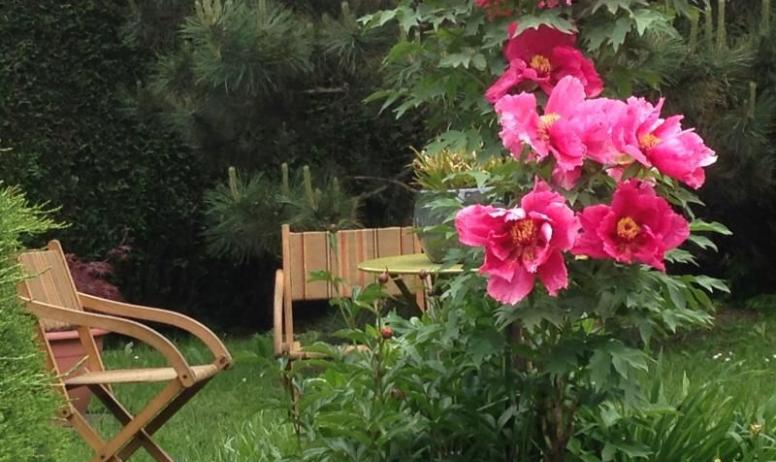 Gîtes de France - Le jardin fleuri