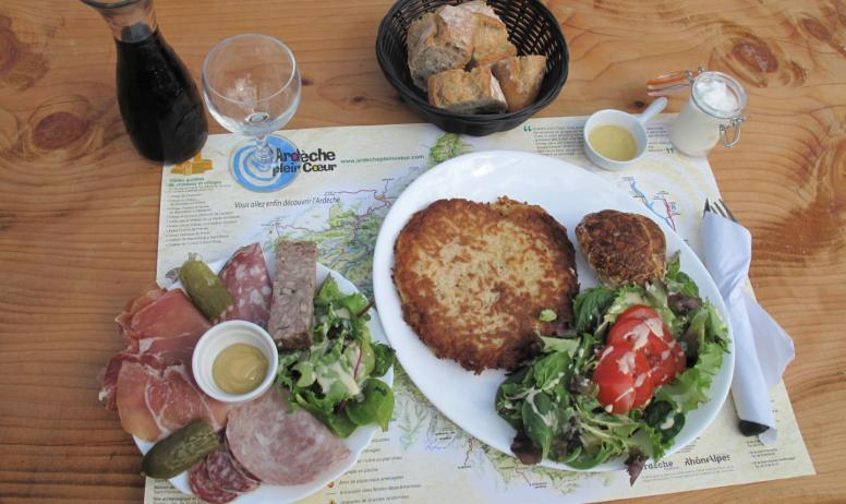 Mme Blondeau - Assiette Ardéchoise