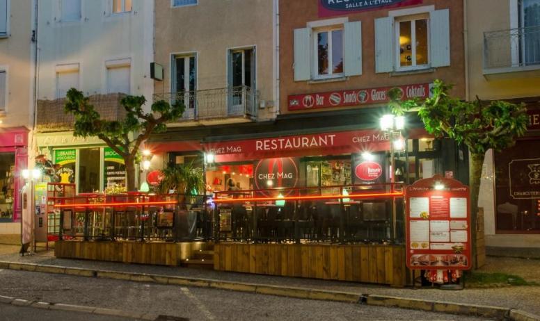 Magali Rochette - Le restaurant