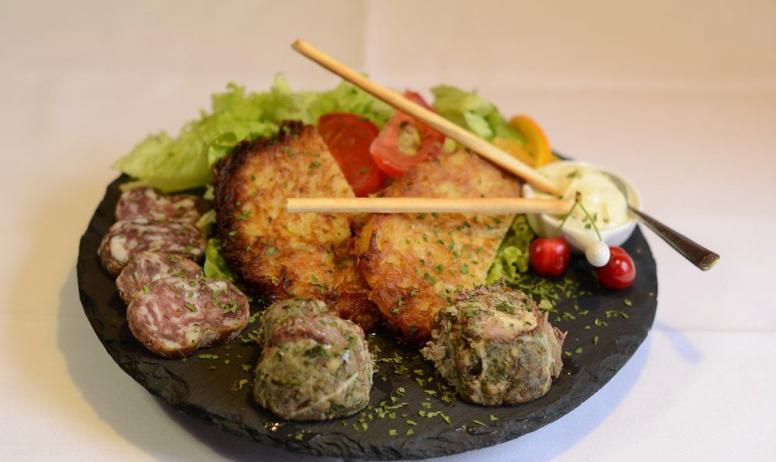 Magali Rochette - Assiette terroir