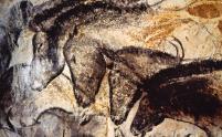 la grotte ornée du Pont d'Arc (dite Grotte Chauvet) en Ardèche, trésor de l'humanité