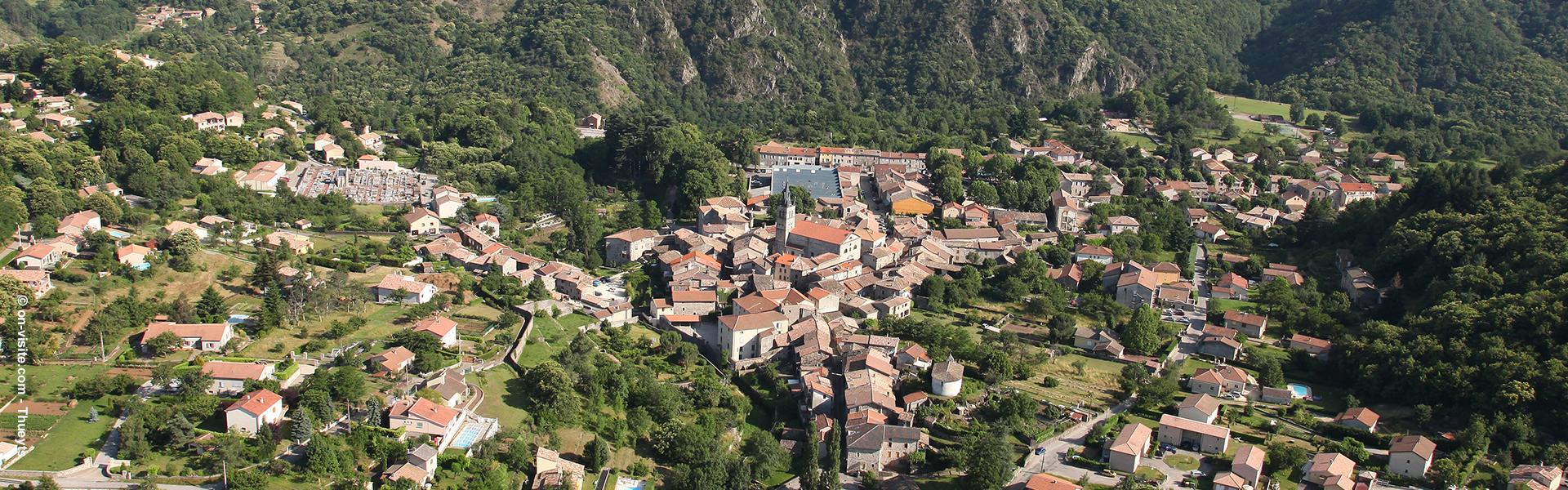 Village de caractère Thueyts